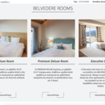 Belvedere rooms