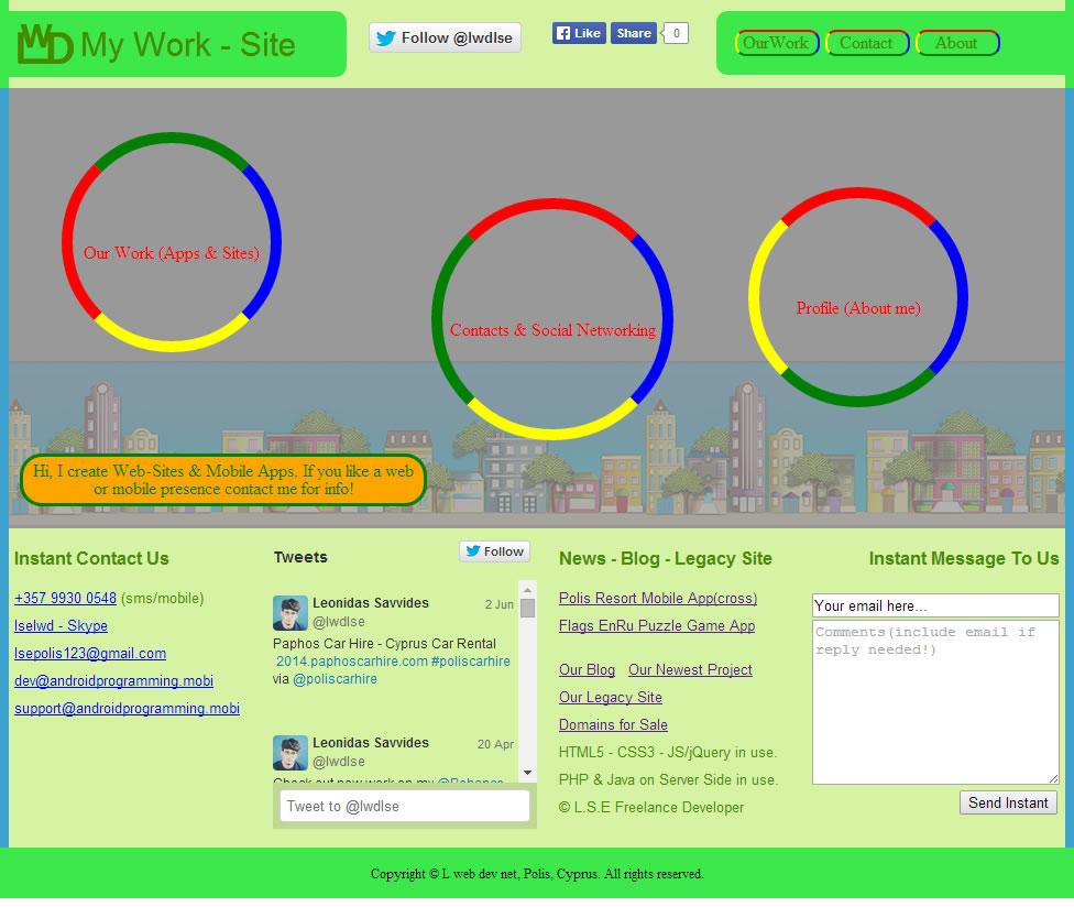 Our Web Work Site: www.L-web-dev.net - Responsive Site
