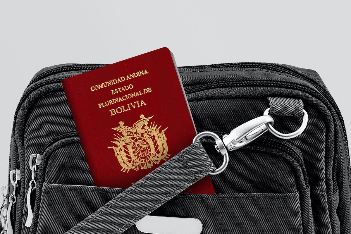 Pasaporte boliviano desde el extranjero