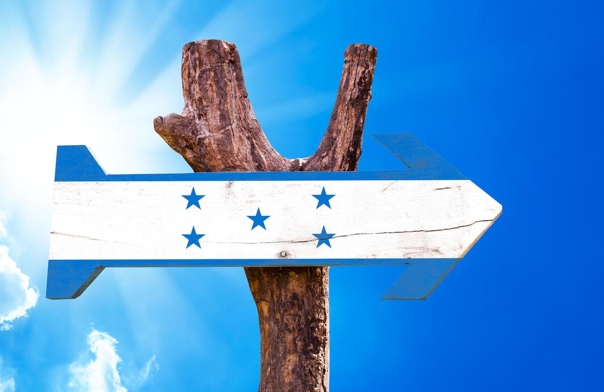 Pasaporte hondureño desde el extranjero