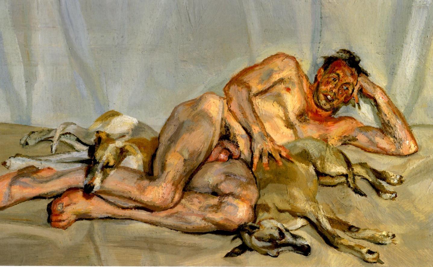 Фото картины спящая домработница фрейд 6 фотография
