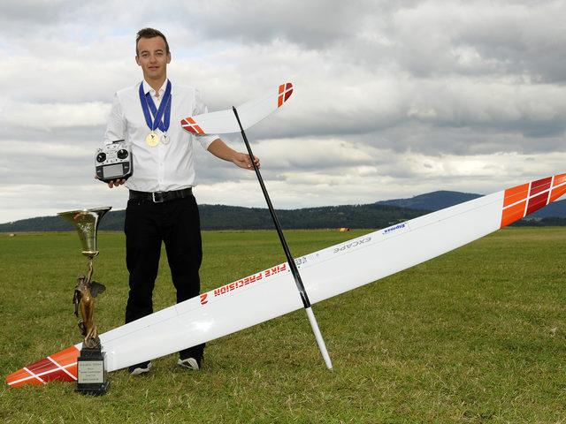 WM-Gold für Bernhard Flixeder – mit FUTABA T18SZ 2.4GHz Fernsteuerung