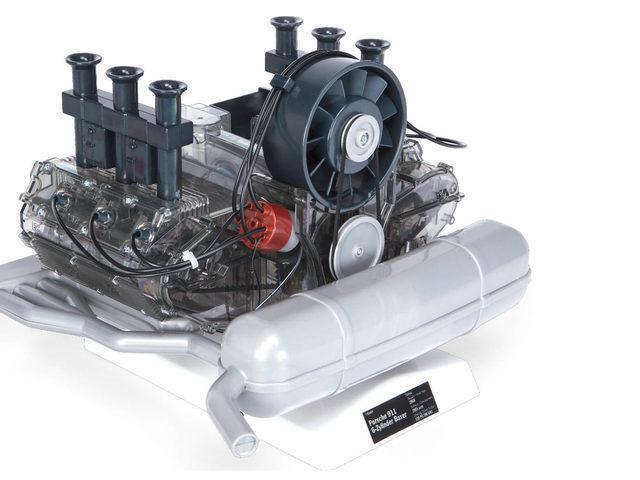 Porsche 6-Zylinder-Boxermotor – Technikbausatz