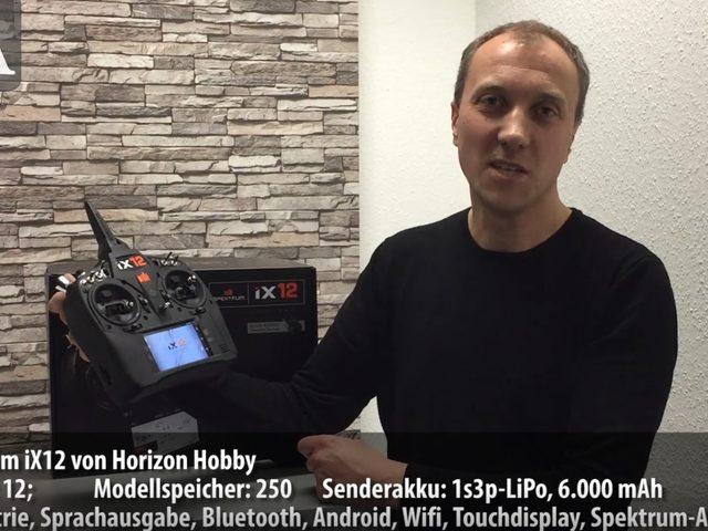 Unboxing-Video zur Spektrum iX12 von Horizon Hobby