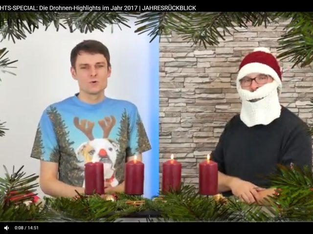 Video-Tipp: Weihnachsspecial der Drones-Redaktion