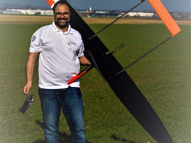 F5J-Segelflugmodell Plus von Mahmoudi
