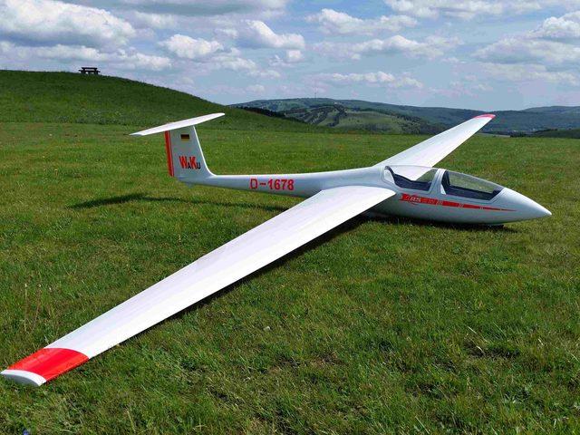 ASK-21 mit 5.600 mm Spannweite bald bei Xtreme-RC