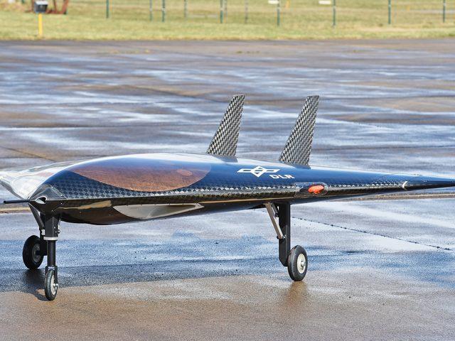 Sagitta des DLR – ein Technologie-Erprobungsträger für unbemanntes Fliegen