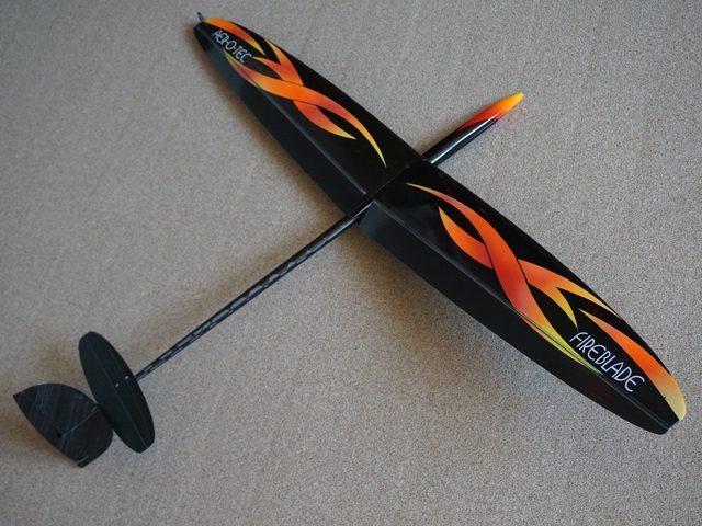 Neuer F3K-Segler Fireblade-2 von aer-o-tec