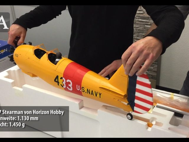 Unboxing-Video zu PT 17 von Horizon Hobby