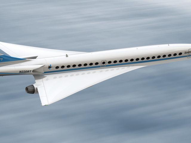 Boom – schneller als die Concorde