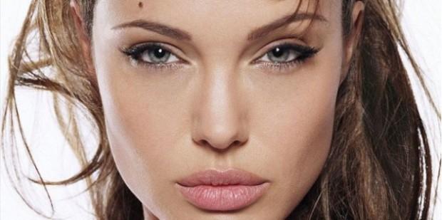 Maquillaje ojos juntos