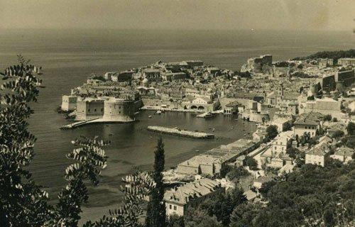Dubrovnik ovaros egykoron