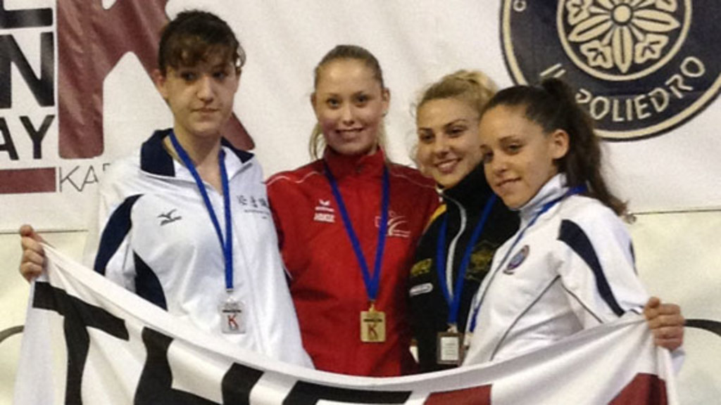 Ramona bruederlin gewinnt gold in italien