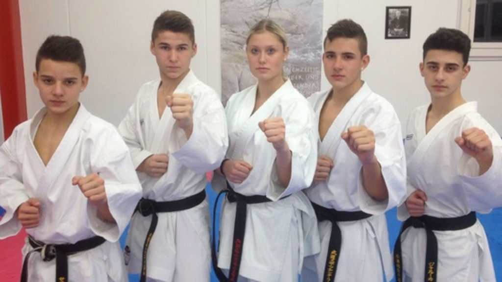 5 karateka vom bsc liestal in den nationalen kader in kata und kumite