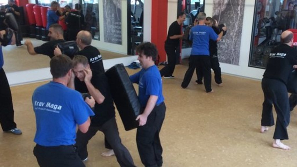Krav maga self protect advanced instruktoren lehrgang in liestal 2014