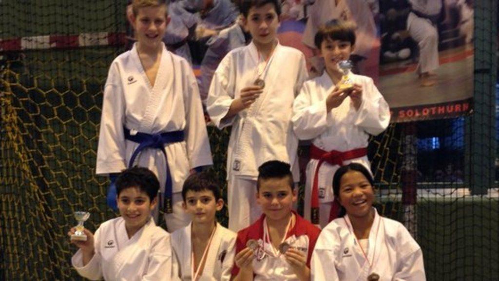 Junior karate league solothurn 2014