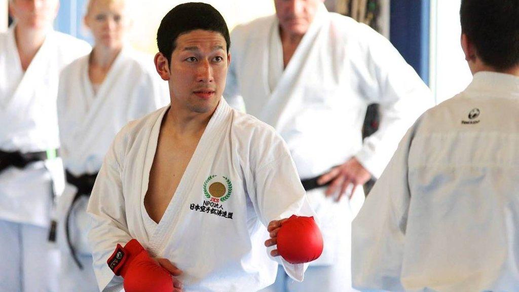 Shinji nagaki karate lehrgang