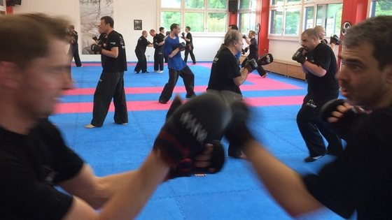 Bericht 5. sparring training