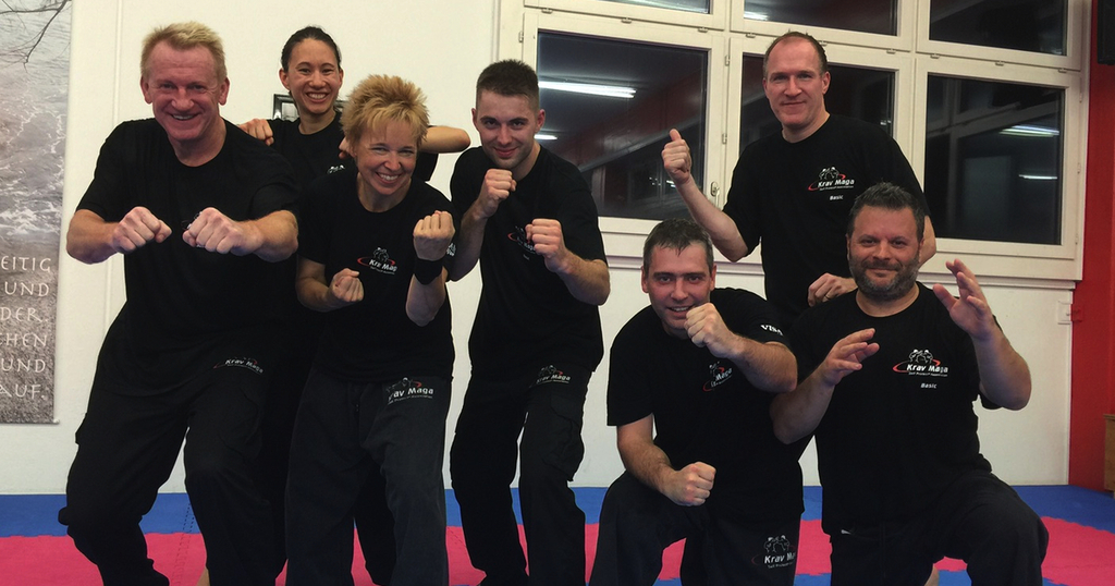 Krav maga basic prufungen vom 222 9092015 im kms center liestal