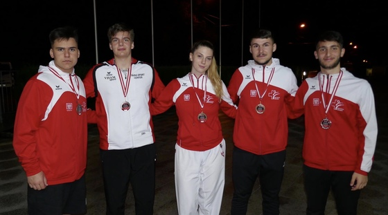 Medaillengewinner austrian junior open salzburg 2019