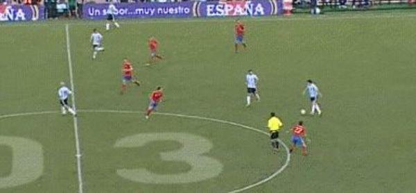 Messi assist Di Maria