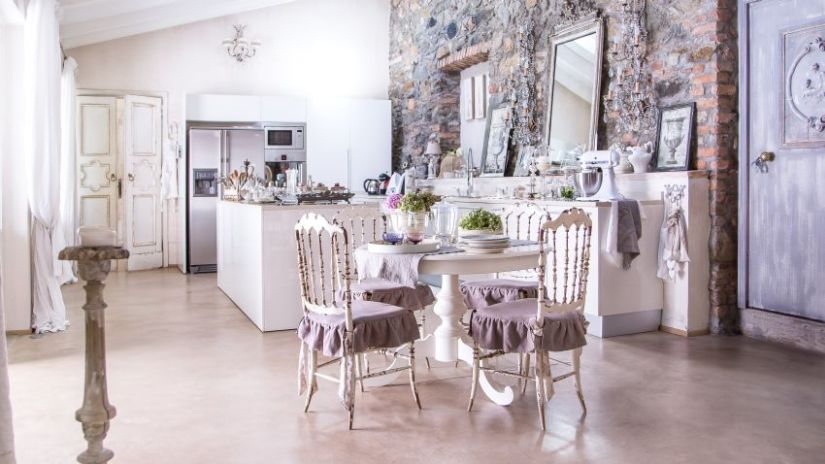 Cuisine Shabby | Dco Shabby Chic Simple Dcoration Romantique Conseils Dco Sur