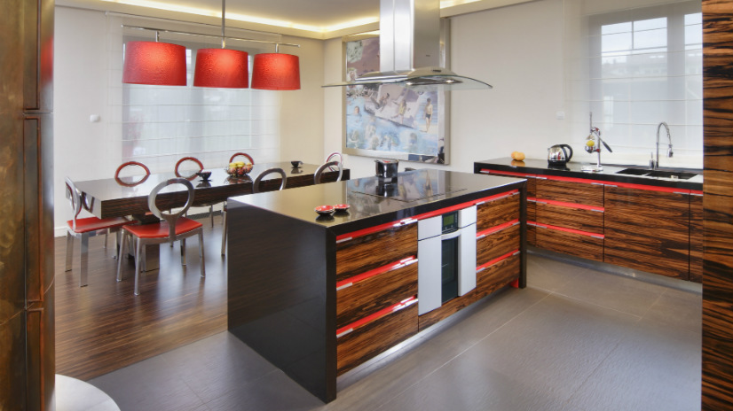 Cucine moderne legno