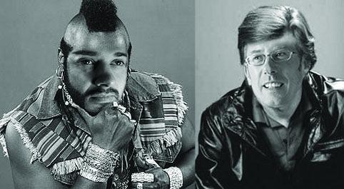 Simon Threadkell aka BA Baracus (left) Stephen Anderson aka Face (right)