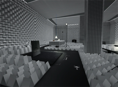 'noiseless space'