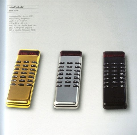 John Pemberton's 1975 Sovereign Calculators