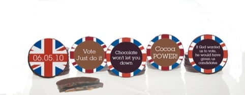 Artisan Du Chocolat Election Buttons