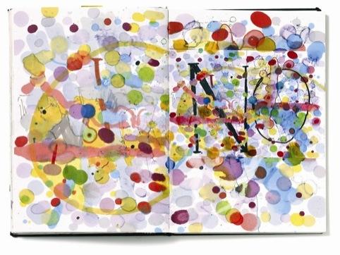 From illustrator Noma Bar's sketchbook