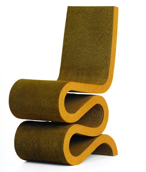 Frank Gehry's Wiggle Chair