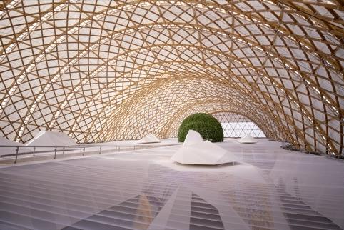 Shigeru Ban Architects Japan Pavillion