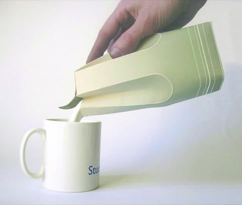 Raw Edges Milk Cartons