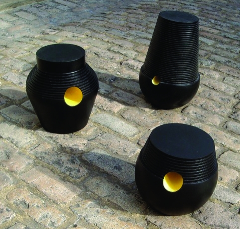 Stepping stools by Simone Brewster