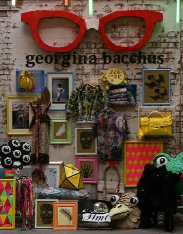 The latest Supermarket Sarah Wall for set designer Georgina Bacchus