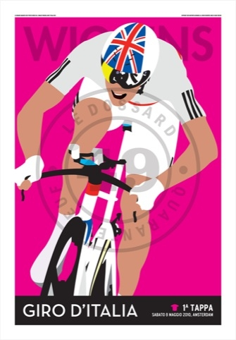 Bradley Wiggins Giro Italia by Le Dossard Quarante-Neuf