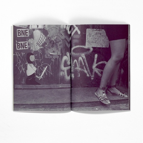 Images from Kid Acne's Stabby Women zine