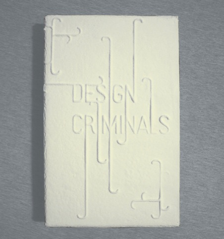 The Design Crimes edible catalogue
