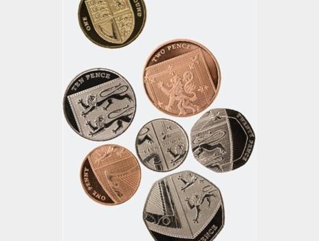 Coins designed by Matt Dent