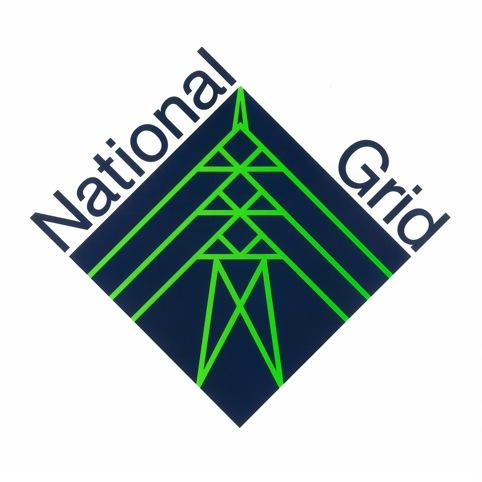 National Grid logo by John McConnell, Pentagram Design