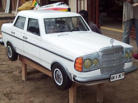 Car coffin