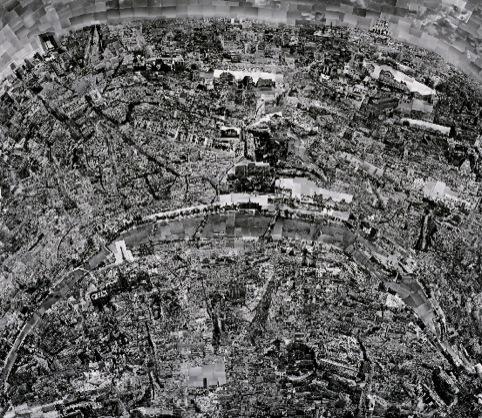 Nishino's map of Paris