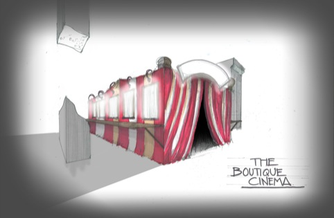 Boutique Screening Booth concept by Elliot Scott