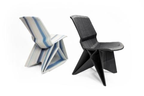 Endless chairs by Dirk Vander Kooij