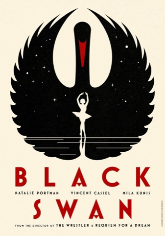 One of four teaser posters for Black Swan