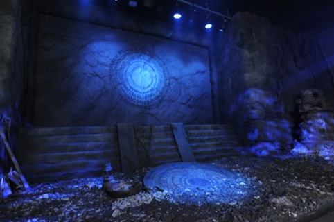 The Pandorica - a key element of episode The Beast Below. Photo by Liam Daniels