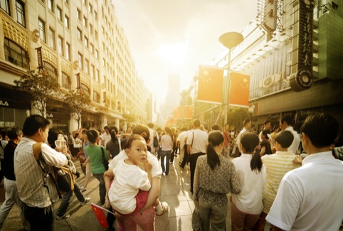 Nanjing Road by Andrew Brooks